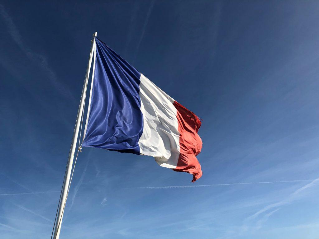 frankrig flag paris fransk