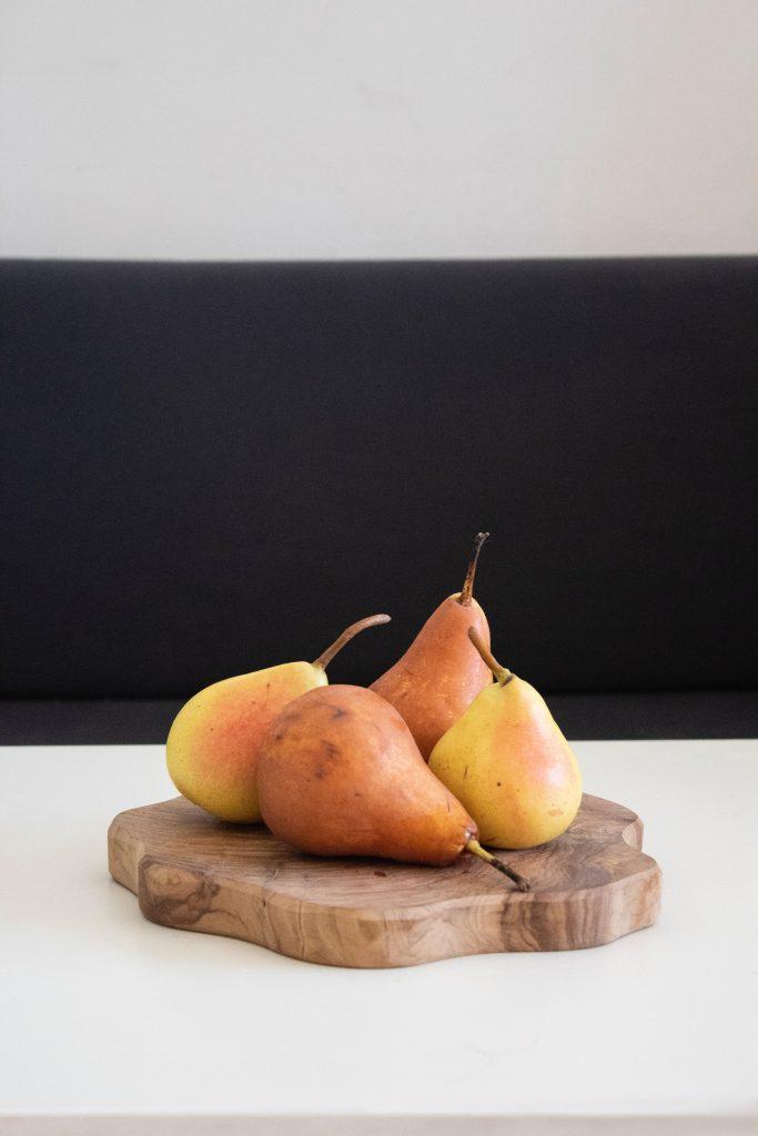 pære frugt sund snack efterår (Foto: Unsplash)