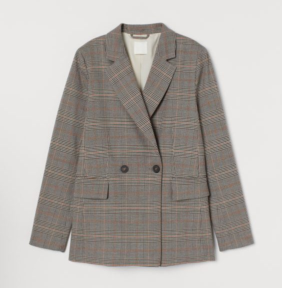 hm, blazer, jakke, efterår, mode