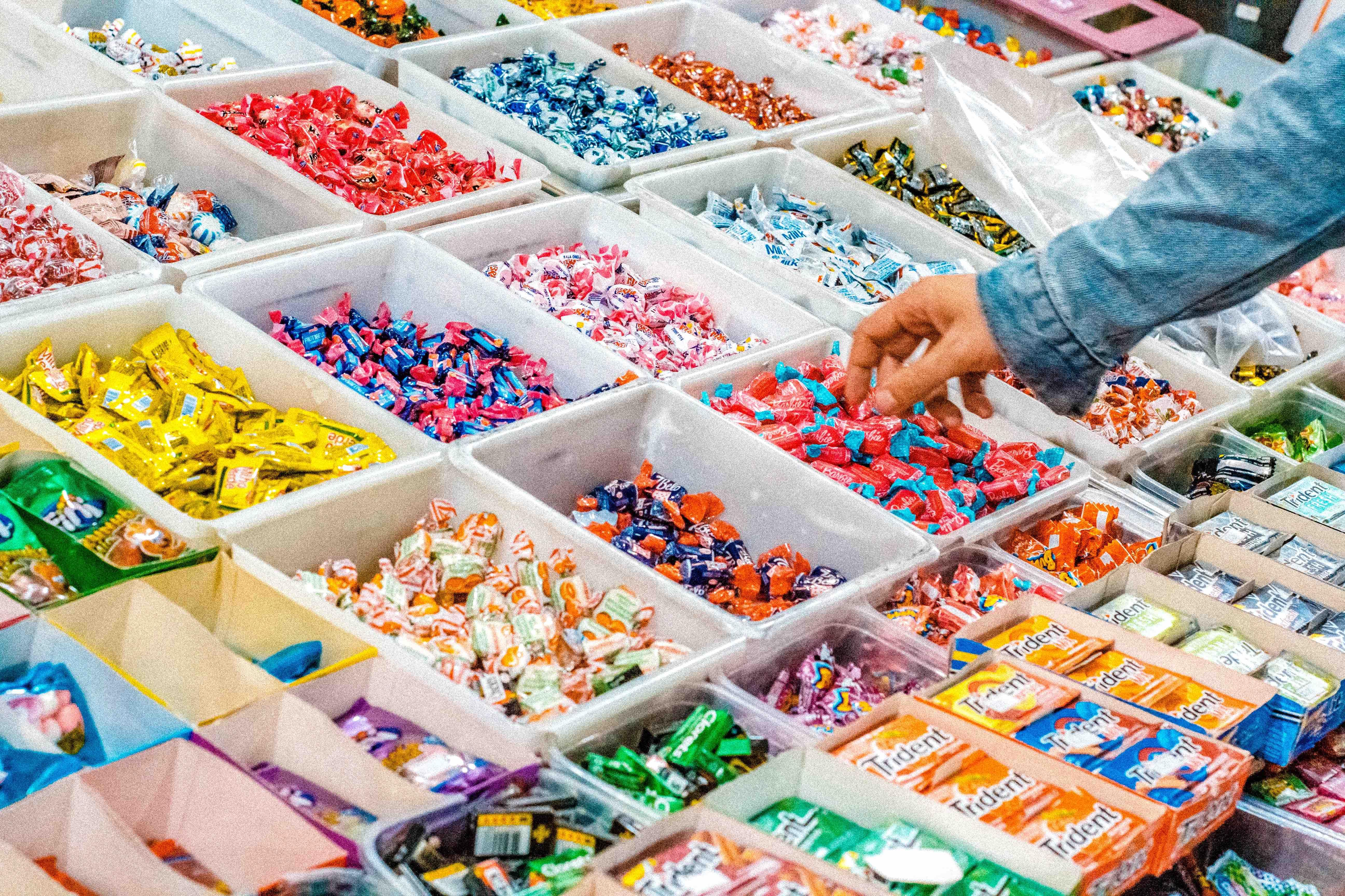 slik, candy, slikbutik