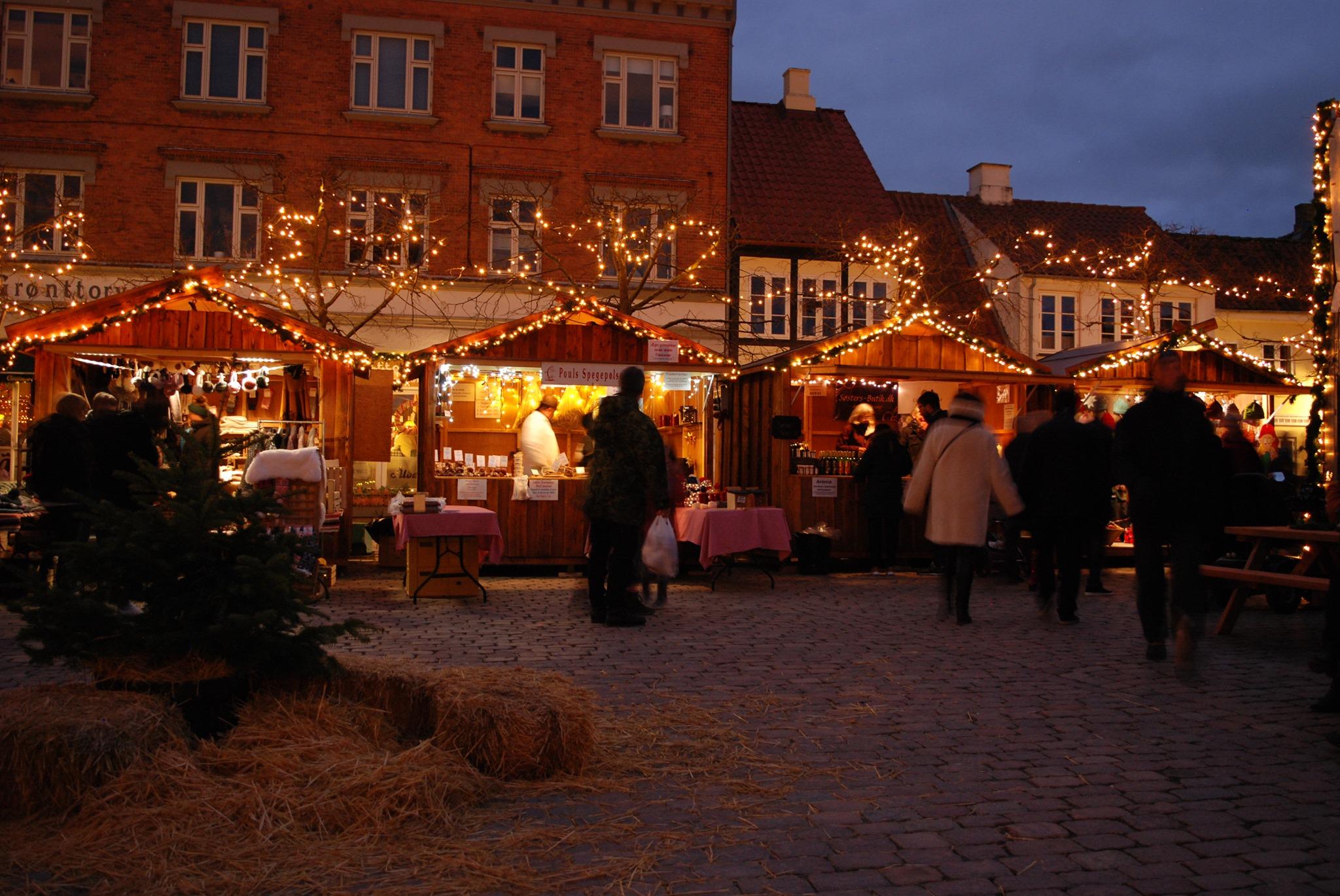 kultur, kulturguide, h.c. andersen, odense, julemarked