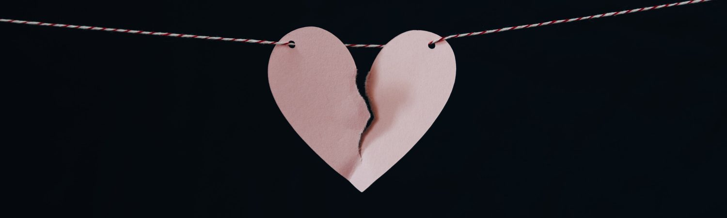 Kærestesorger, kæreste, Sorger, hjerteknuser, break, up, breakup(Foto:Unsplash)