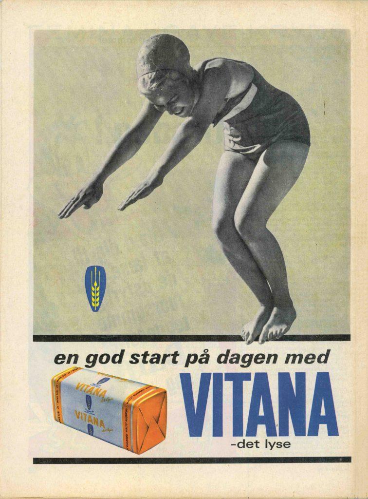 Annonce for Vitana rugbrød 1940 (Foto: Samvirke)
