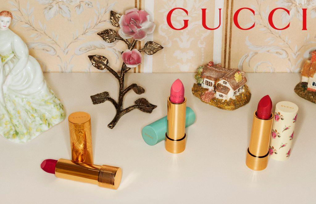 gucci læbestift makeup