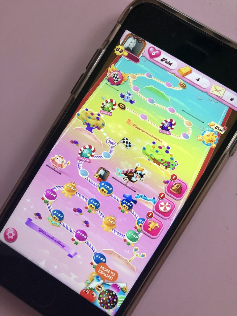candy crush spil gaming (Foto: MY DAILY SPACE)