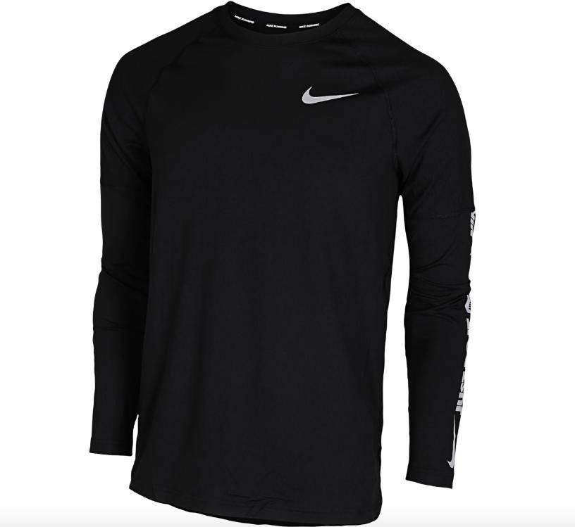 Nike sportstrøje, Nike trøje, langærmet trøje, sort trøje. (Foto: XX)
