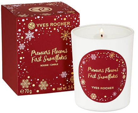 duftlys Yves_Rocher_Candle_First_Snowflakes_box_DKK69