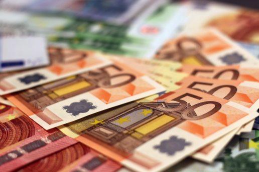 bank, penge, money, euro