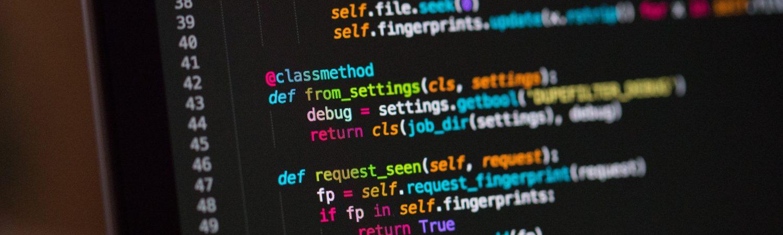 coding, koder, computerskærm, compter koder. (Foto: Unsplash)