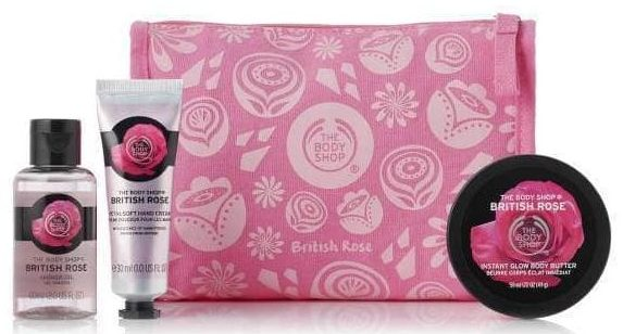 petal-soft-british-rose-delights-bag the body shop gavesæt
