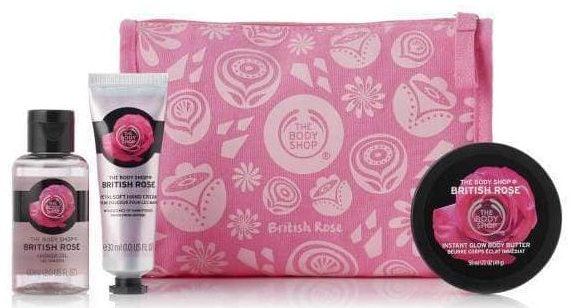 petal-soft-british-rose-delights-bag the body shop gavesæt