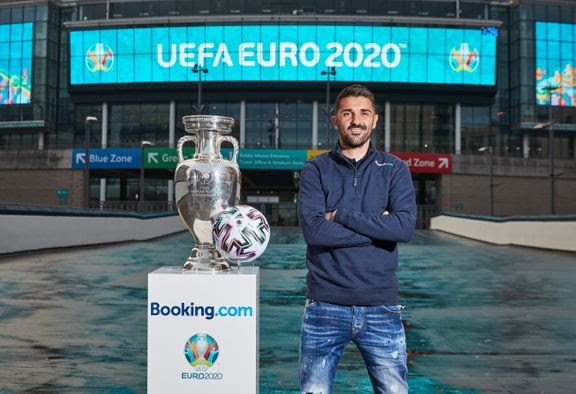 uefa david villa euro 2020 (Foto: Booking.com)