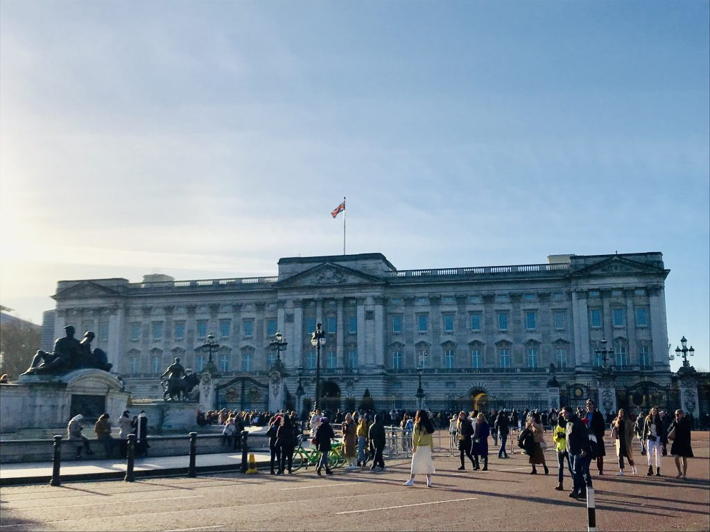 buckingham palace london dronning elizabeth (Foto: MY DAILY SPACE)