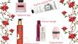 Decemberfund, duft, Valentino, håndcream, badeolie, kropsolie, læbestift, neglelak, lyserød, januar (Kollage: MY DAILY SPACE)
