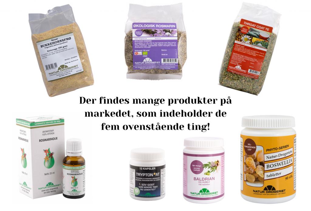 Natur produkter, Natur Drogeriet, helse, helseprodukter (Kollage: MY DAILY SPACE)