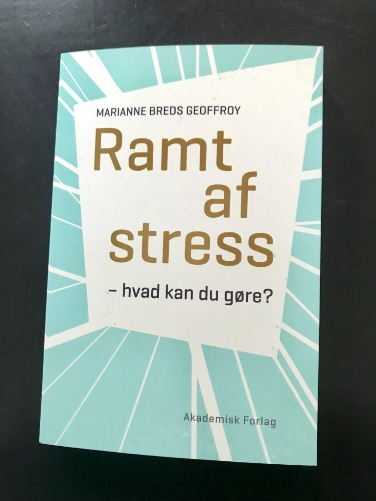 bog ramt af stress marianne breds geoffroy (Foto: MY DAILY SPACE)