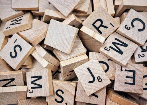 bogstaver, ord, alfabet