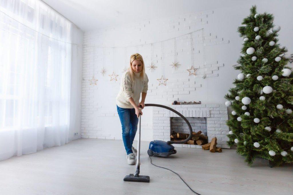 støvsugning støvsuger juletræ (Foto: PR)