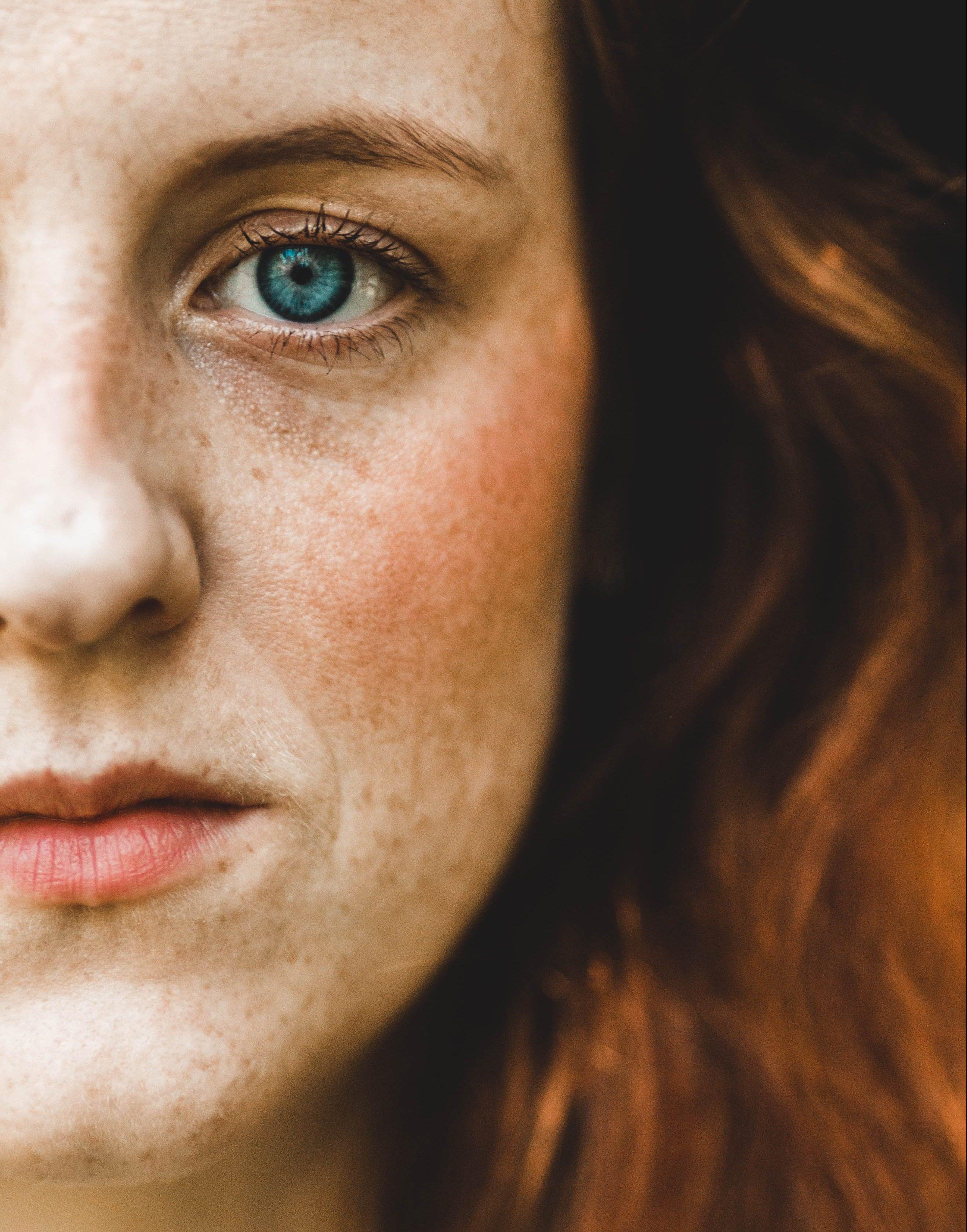 girl, woman, pige, kvinde, ansigt, face, rødhåret