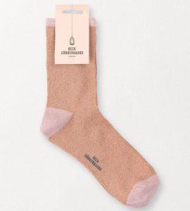 strømper sokker glitter