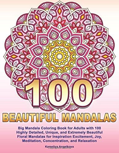 Mandalas, malebog, kreativ, male, tegne (Foto: Amazon)