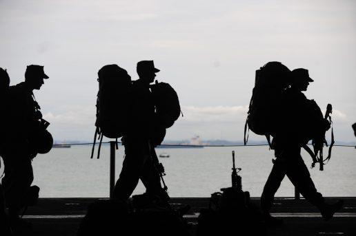 soldat, forsvar, hær