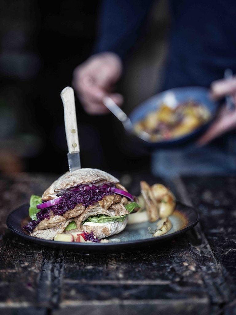 juleburger burger vegan mock duck(Foto: David Bering)