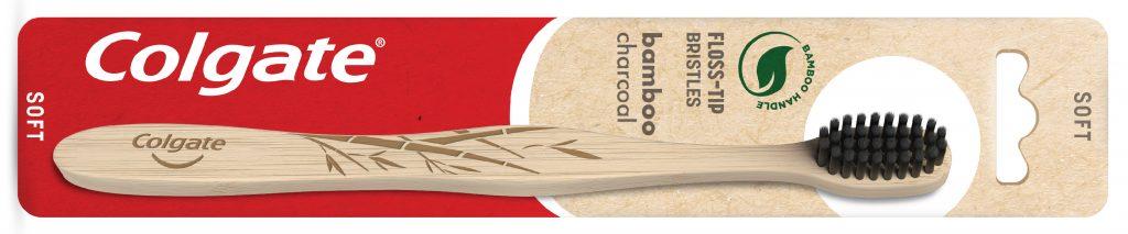 BAMBOO-CHARCOAL colgate tandbørste