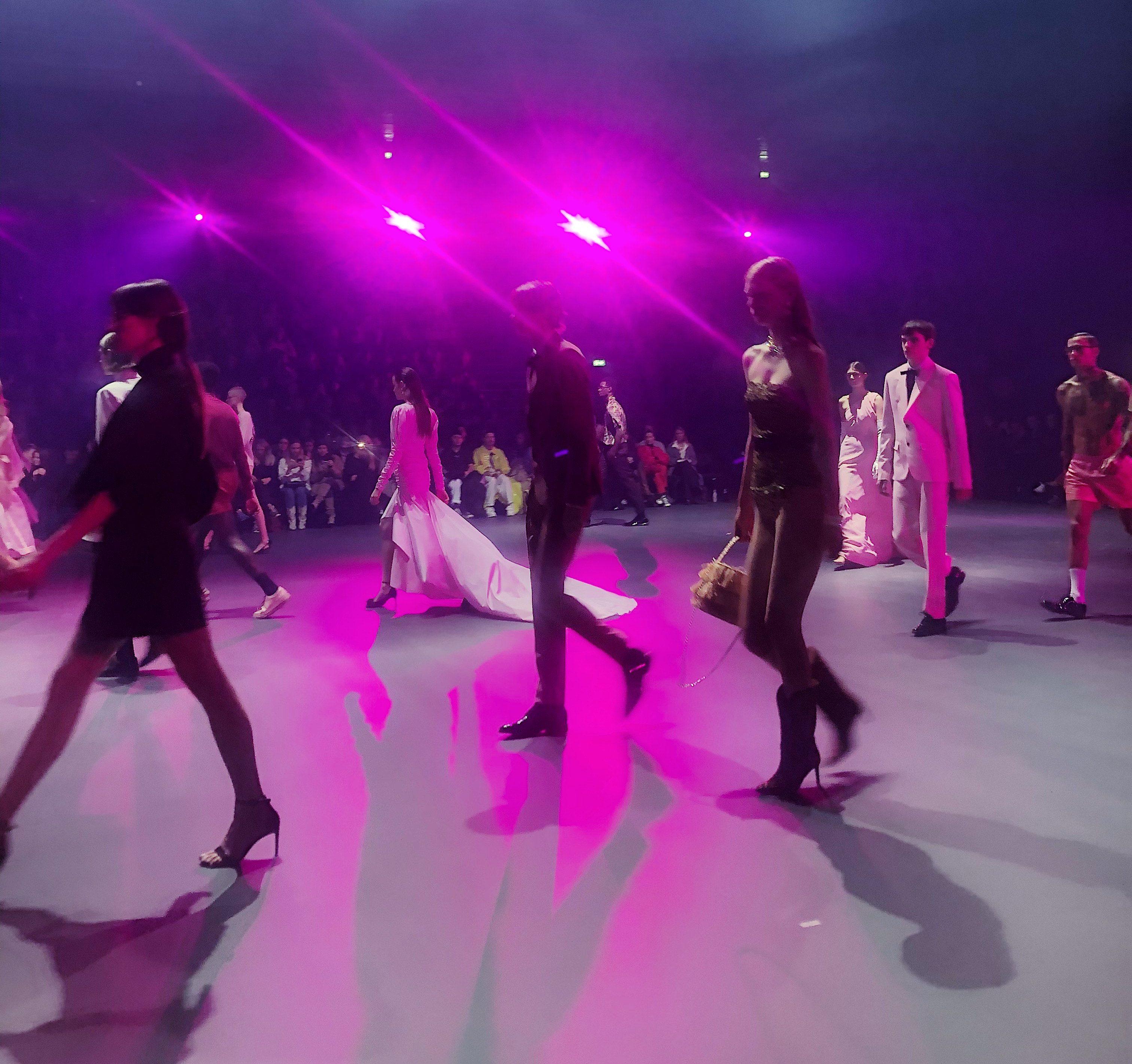 Fashion Week, Boozt modeshow, catwalk, modeller. (Foto: MY DAILY SPACE)