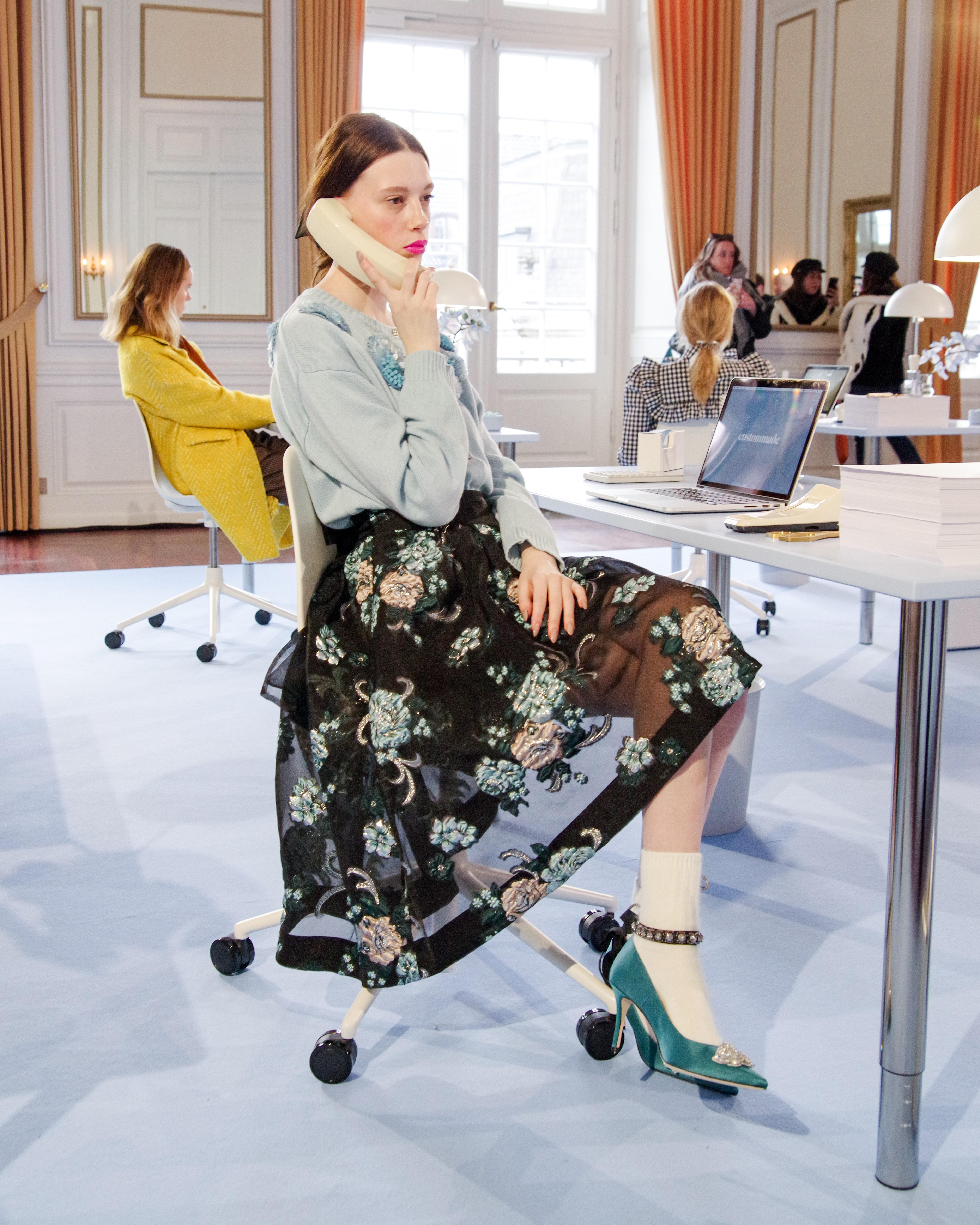 Custommade, AW20, model, Fashion Week, catwalk, modeshow. (Foto: Copenhagen Fashion Week)