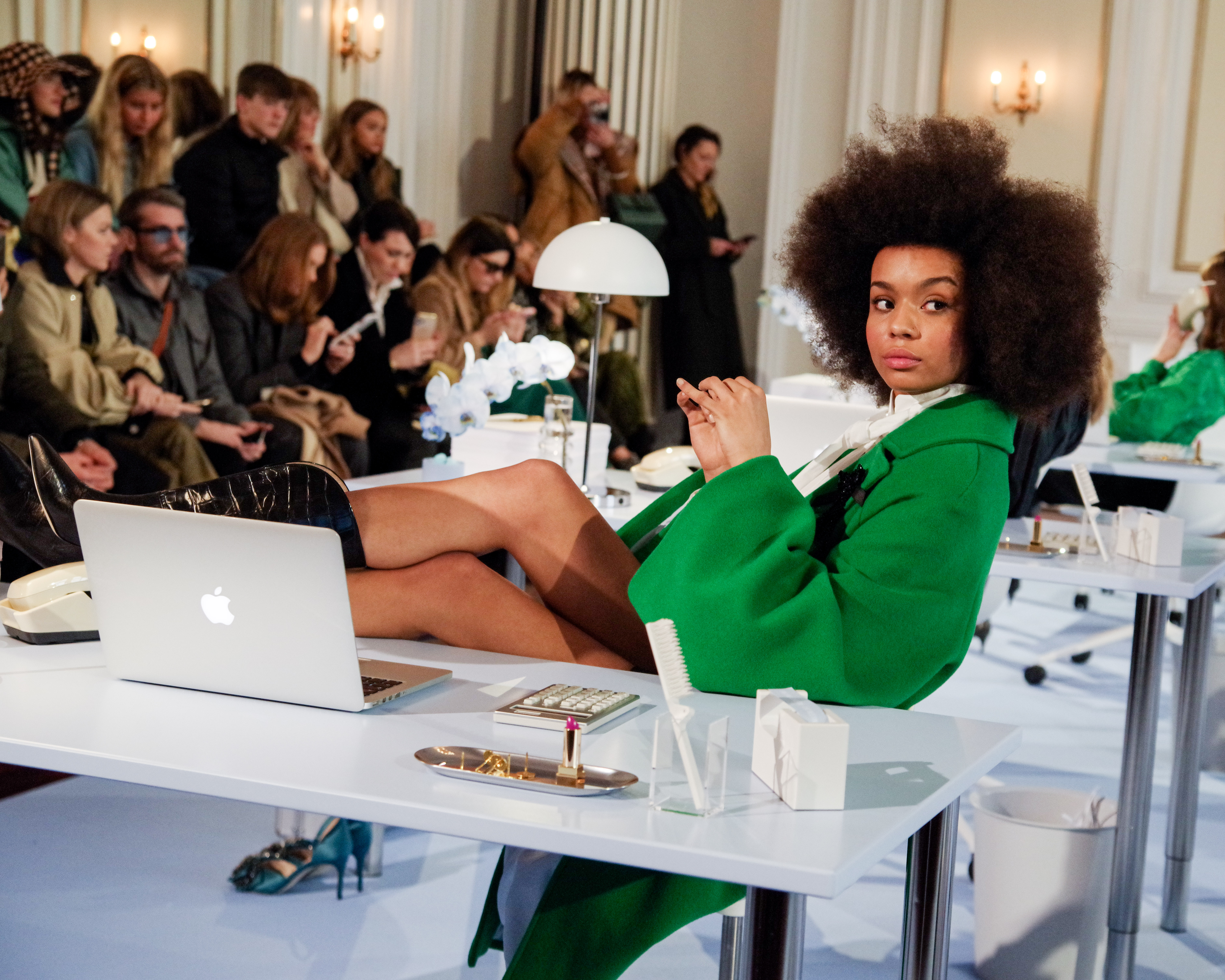 Custommade, AW20, Fashion Week, modeshow, model. (Foto: Copenhagen Fashion Week)