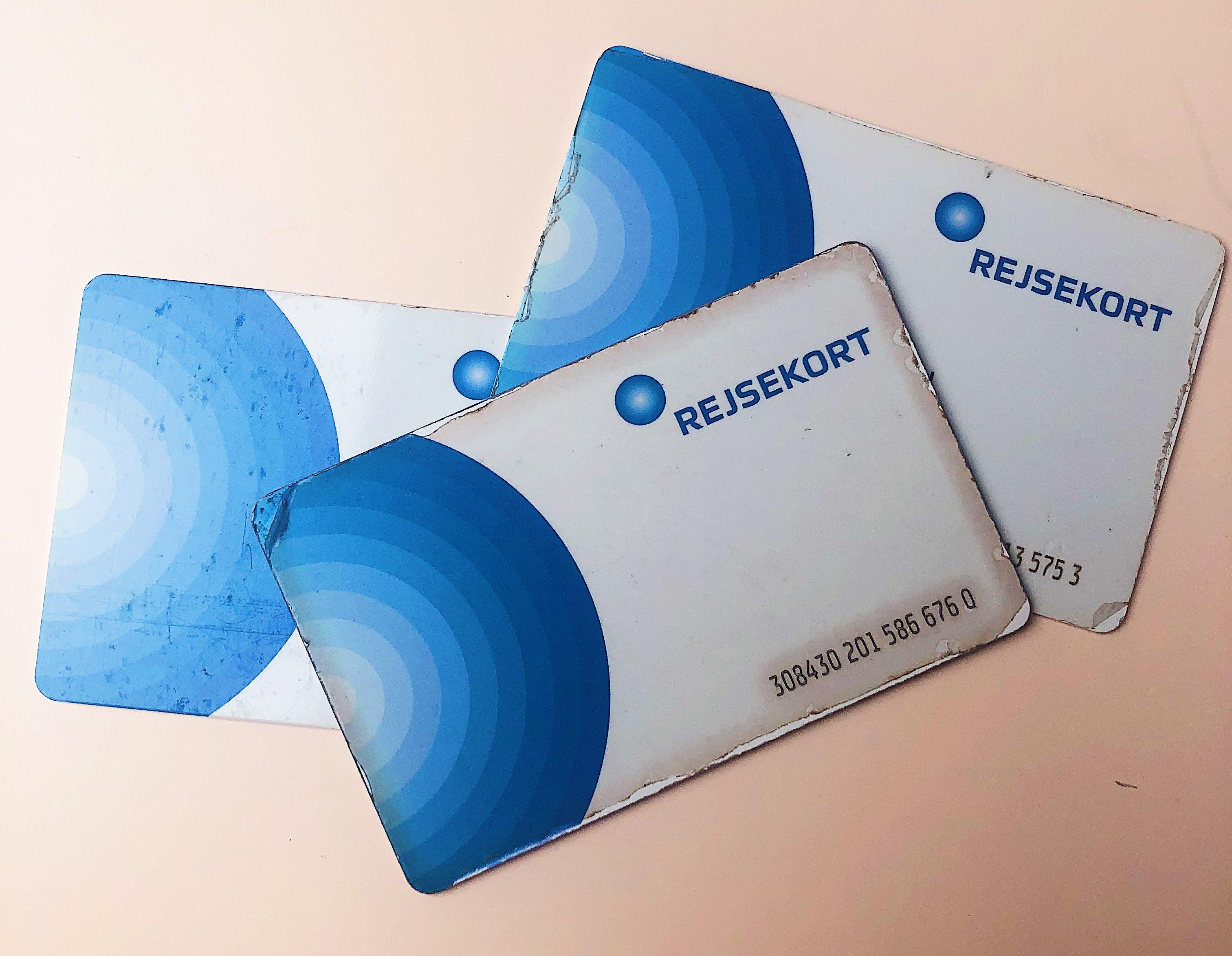Rejsekort, kort, Anonymt Rejsekort. (Foto: MY DAILY SPACE)