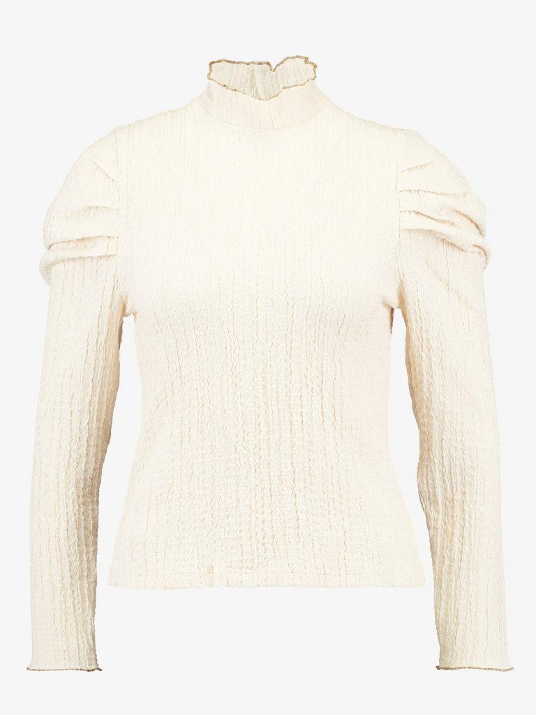 Beige strik trøje (Foto: Zalando)
