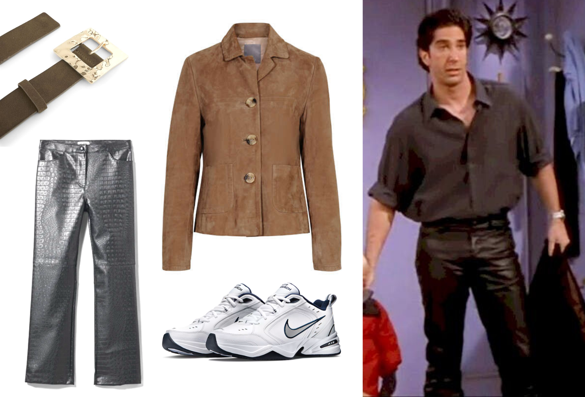 Ross, modig, stilet, inspiration, mode, fashion, Friends. (Kollage: MY DAILY SPACE)