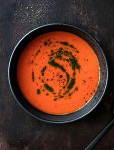 Tomatsuppe suppe sund mad (Foto: Chris Tonnesen)