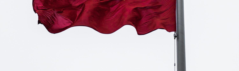Det kinesiske flag, flag, Kina. (Foto: Unsplash)