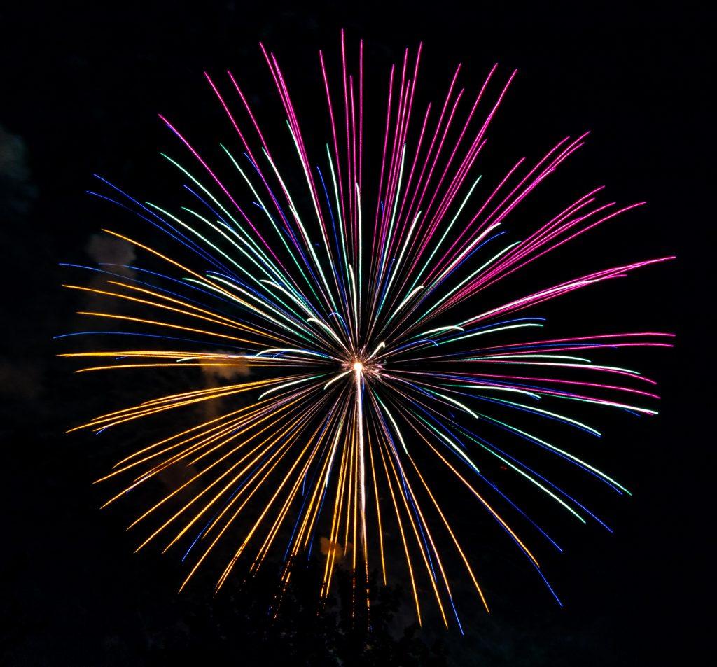 fyrværkeri nytår (Foto: Unsplash)