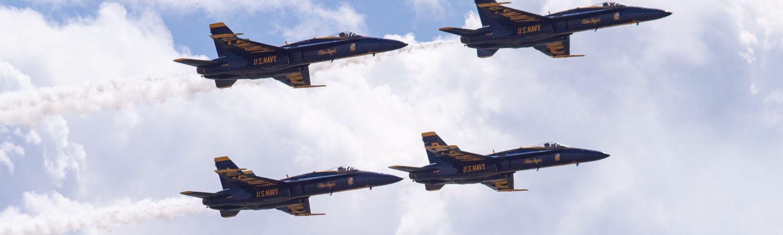 kampfly flystyrt missil missilangreb fighter jet (Foto: Unsplash)