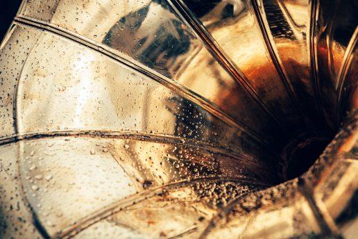 guld golden globe grammofon 20'erne (Foto: Unsplash)