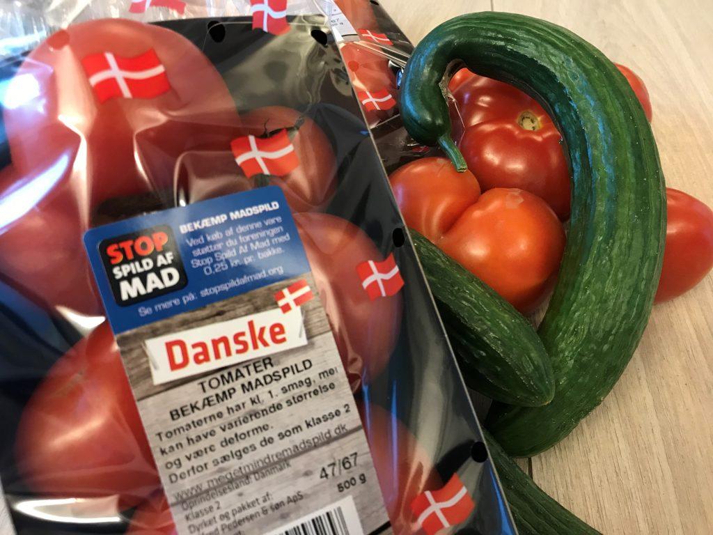 tomat agurk krum grimme grøntsager stop madspild (Foto: Alfred Pedersen og Son ApS)
