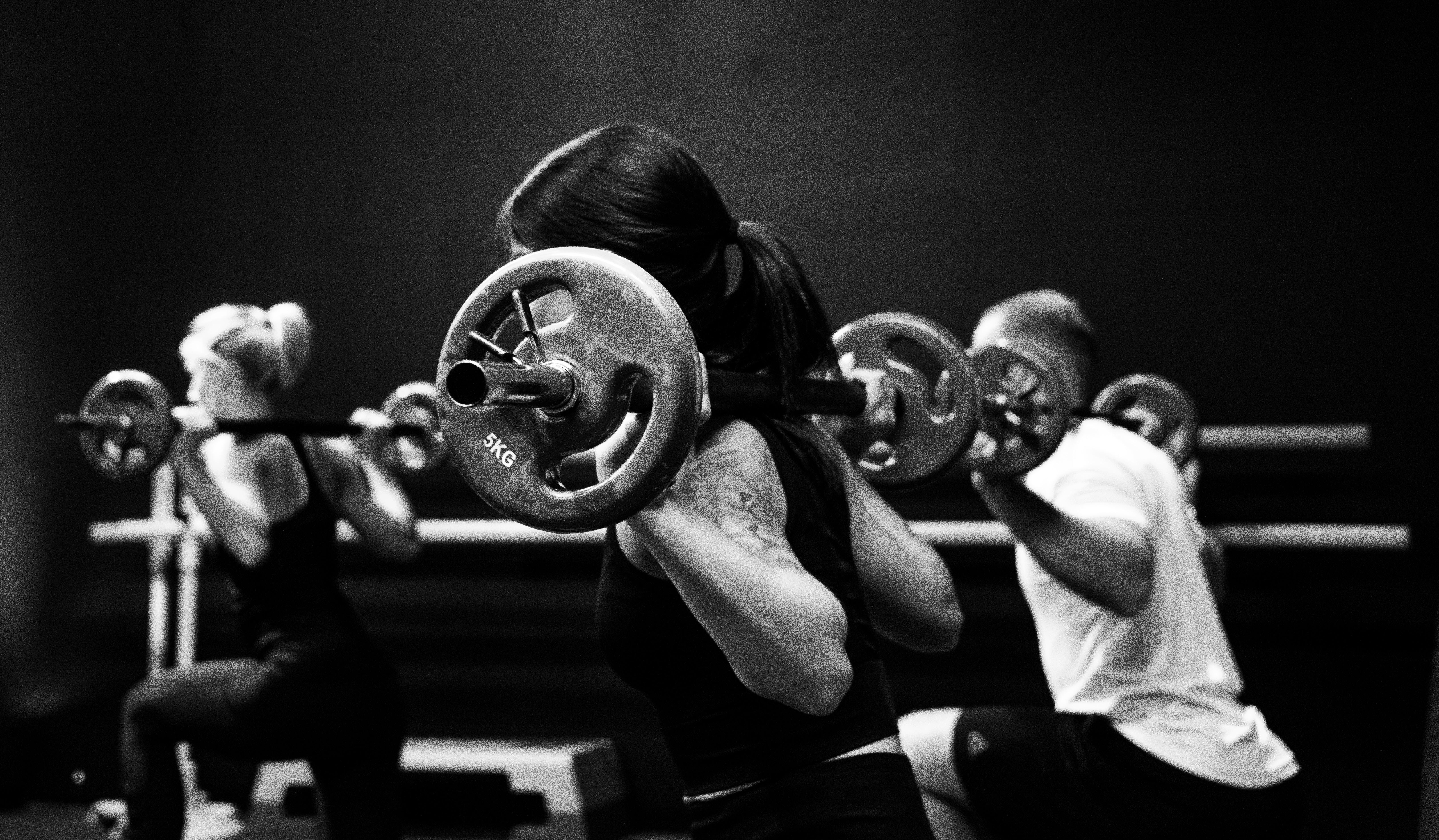 træning fitness pige træne (Foto: Unsplash)