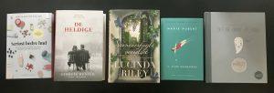 fem 5 på stribe bog bøger boginspiration boganbefaling (Foto: MY DAILY SPACE)