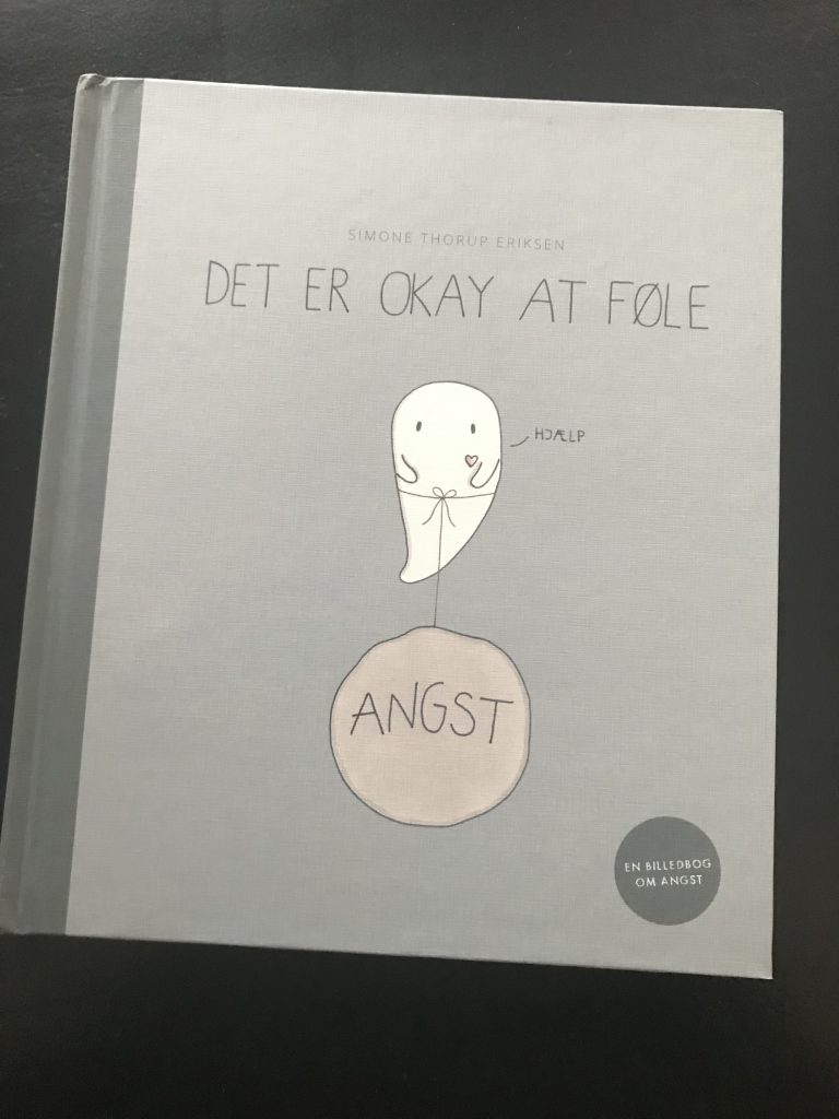 bog det er okay at føle angst simone thorup eriksen(Foto: MY DAILY SPACE)