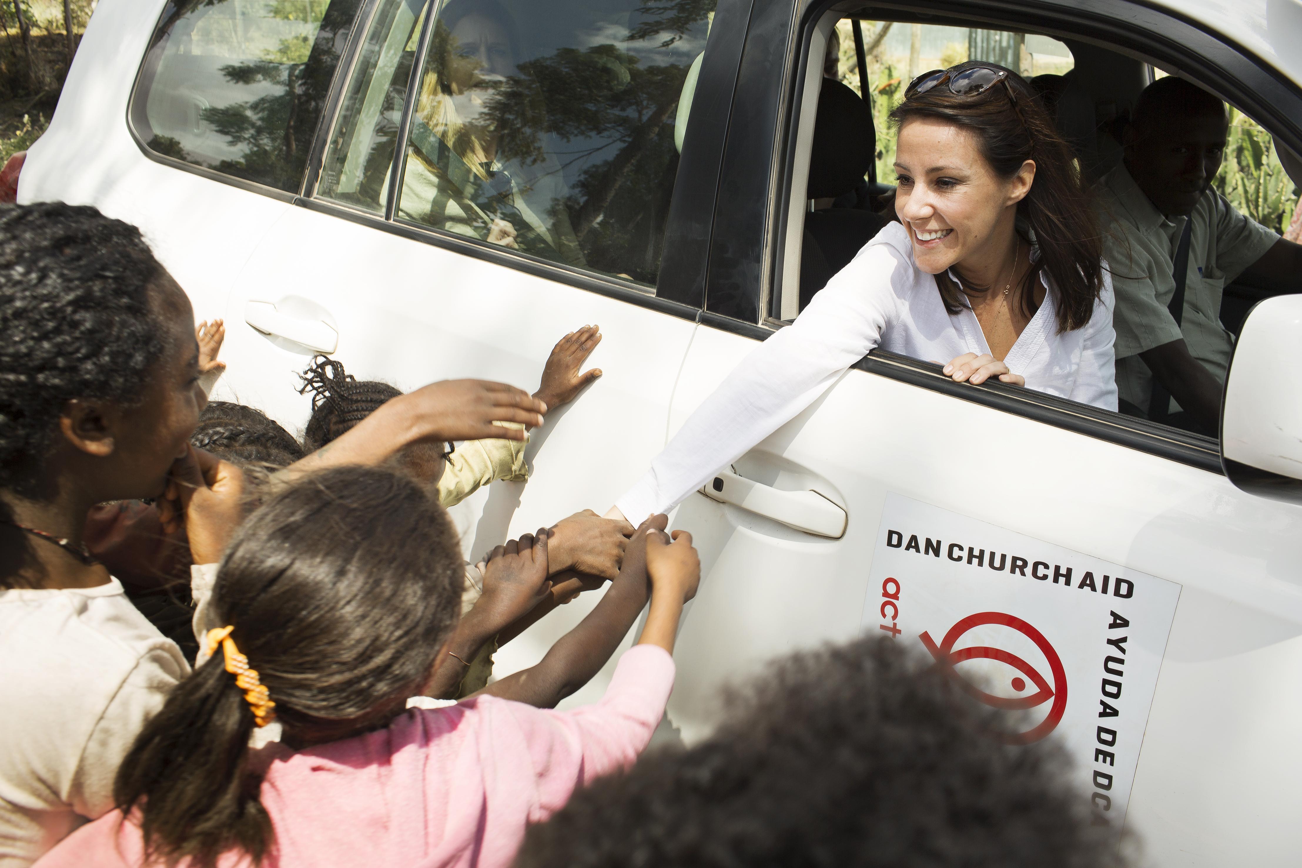 Prinsesse Marie, Folkekirkens Nødhjælp. (Foto: PR)