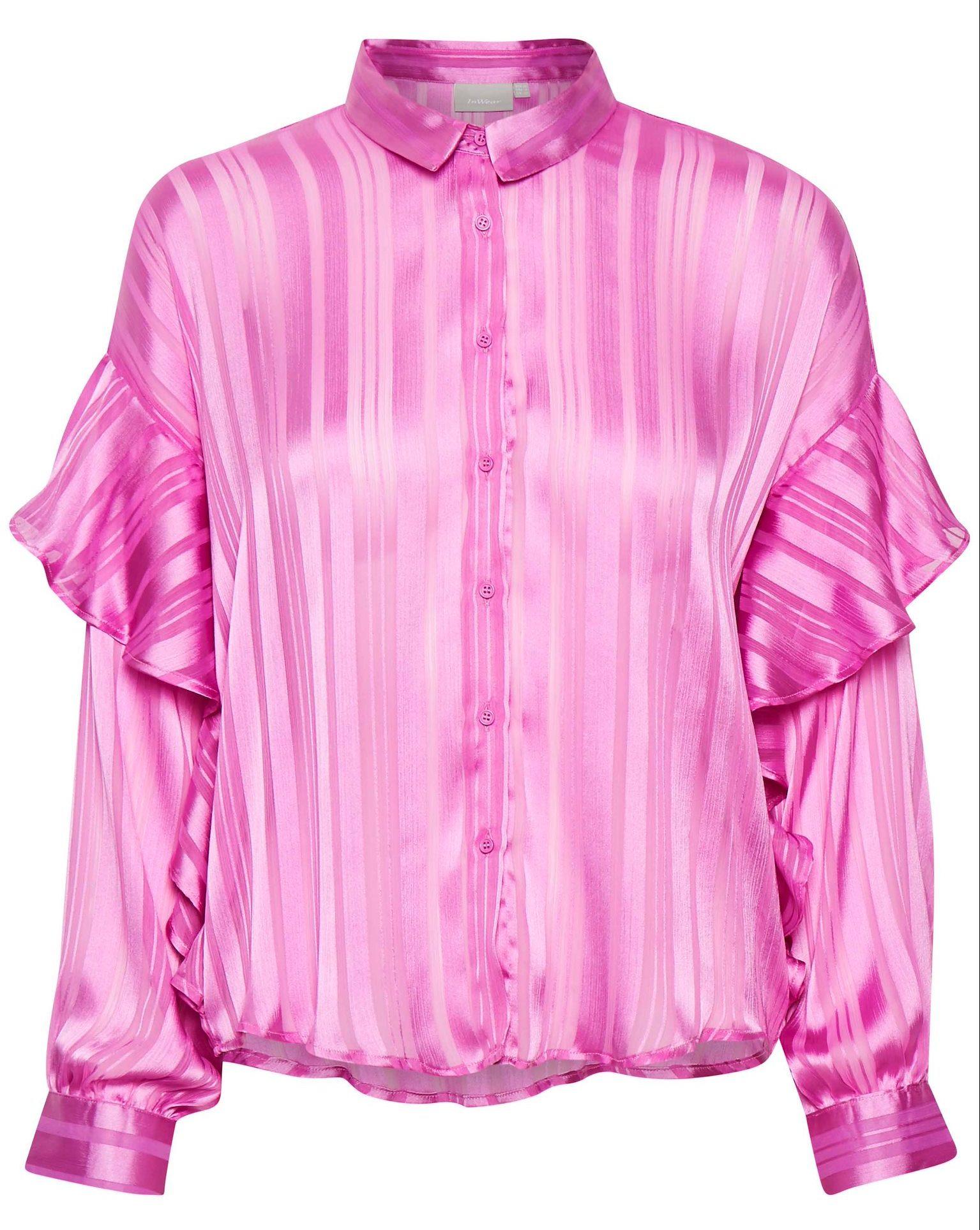 Pink skjorte, InWear, lyserød. (Foto: InWear)