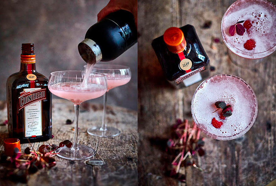 drinks, cocktails, cointreau, valentines day, v-day. (Foto: Lorang & Co. Lene Samsø