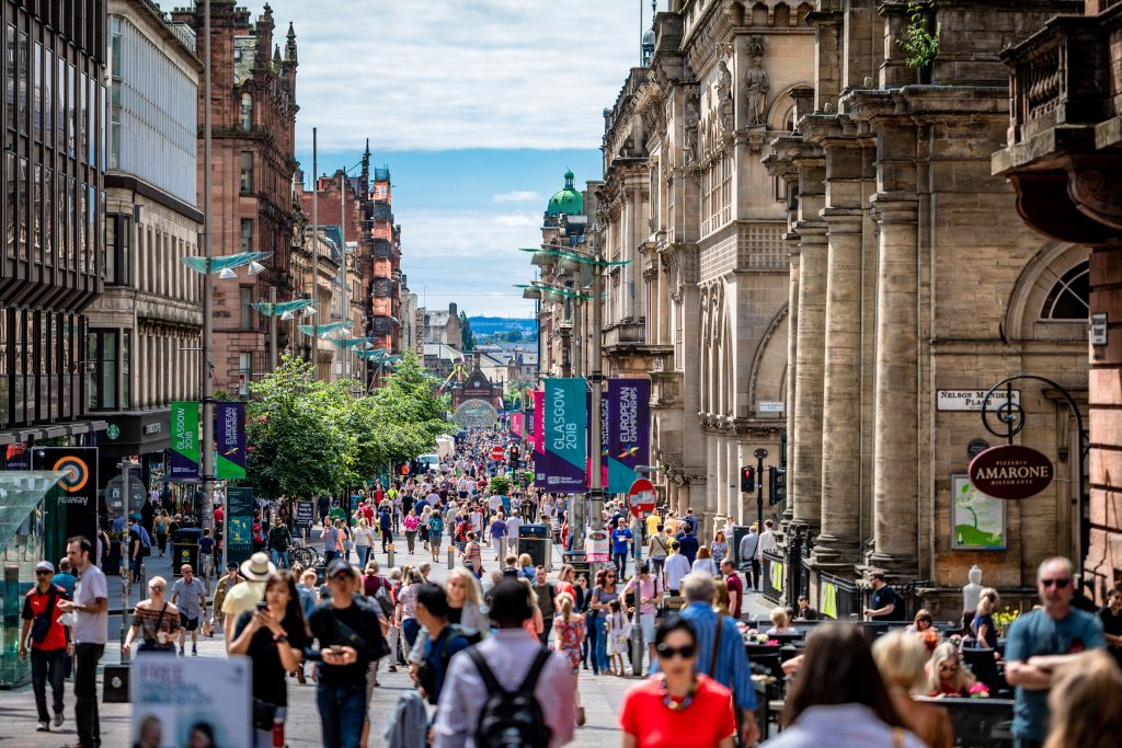 Glasgow Skotland (Foto: Unsplash)