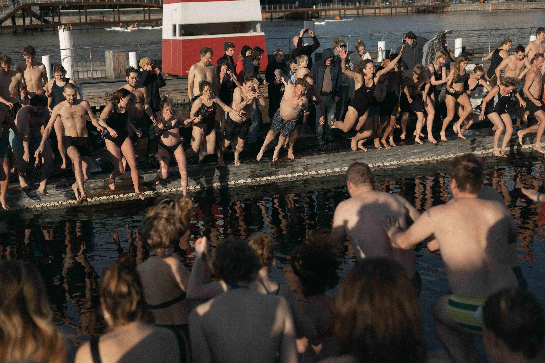 copenhagen, københavn, bade, havn, sommer