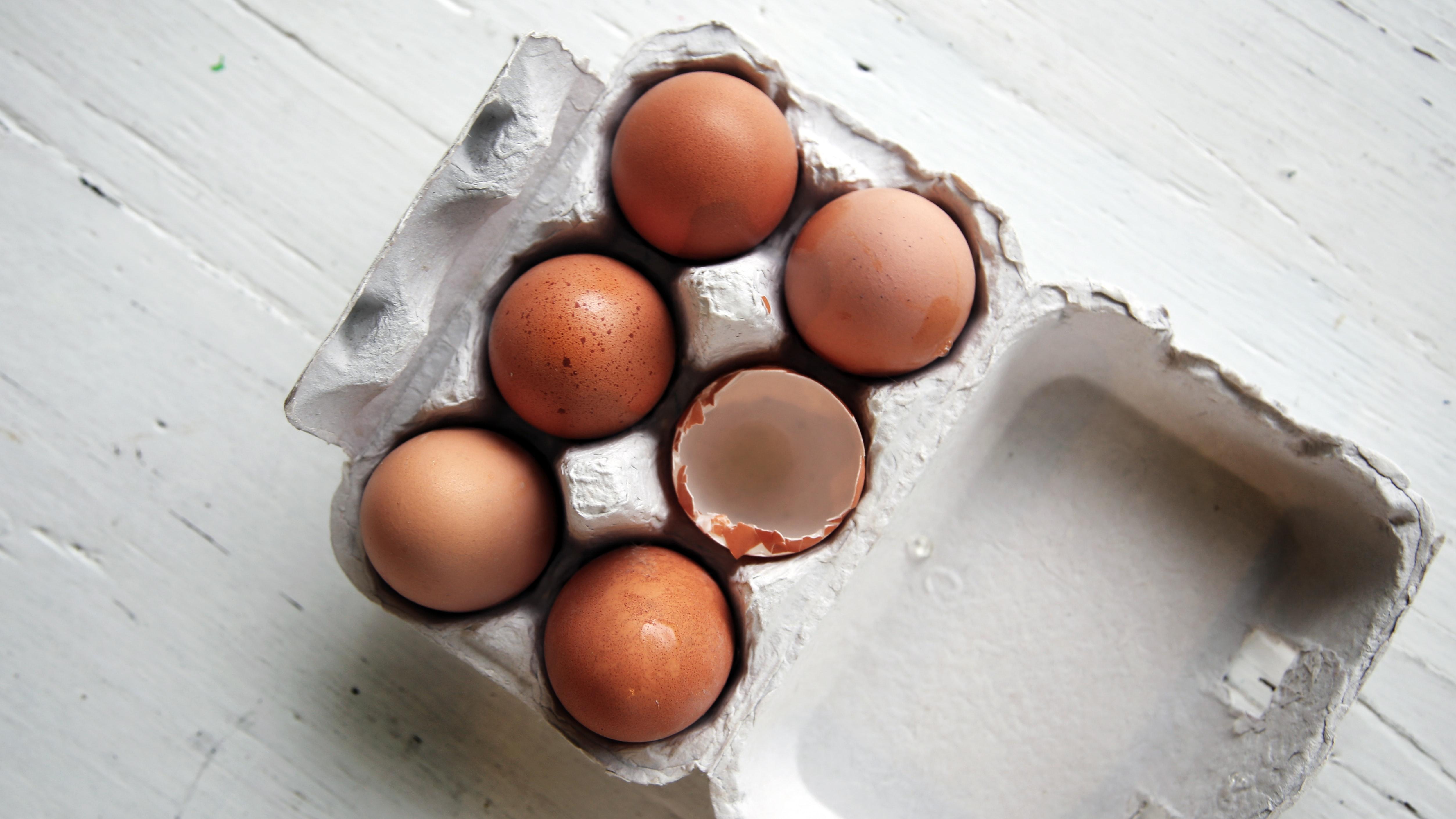 Madspild, mad, food, æg, eggs, spild. (Foto: Unsplash)