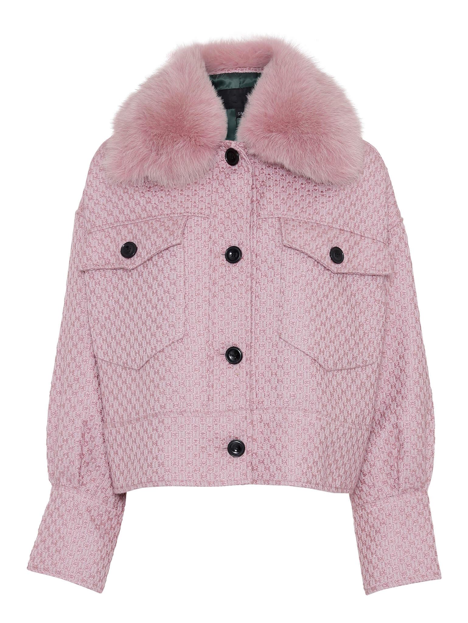 Lyserød, jakke, overgangsjakke, Meotine jakke. (Foto: Meotine)